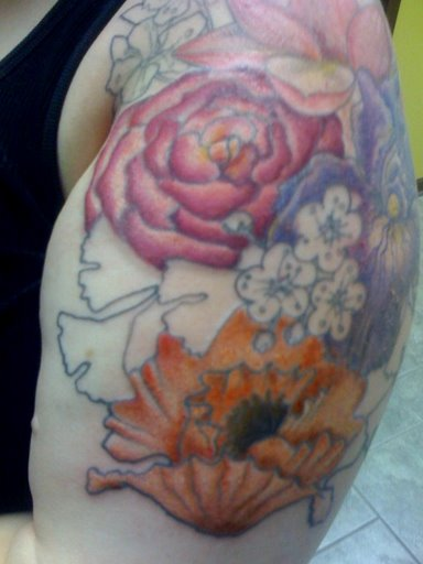 Stage Three of Tattoo Sleeve